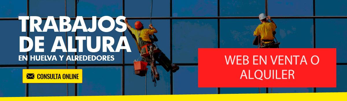 Trabajos verticales en Huelva y alrededores